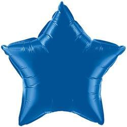 45cm Star Foil Blue