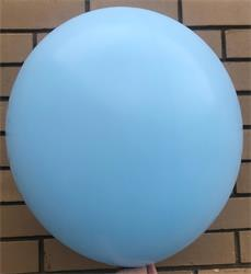Macaroon Coloured Latex 60cm Pastel Blue Pack 4