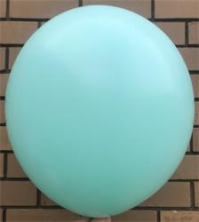 Macaroon Coloured Latex 60cm Pastel Mint Pack 4