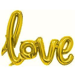Love Script Gold 100cm