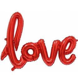 Love Script Red 100cm.