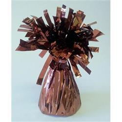 Balloon Weight Foil Holographic Brown - 170grm