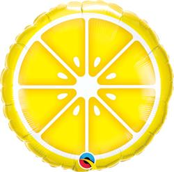 Qualatex Balloons Sliced Lemon 45cm
