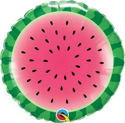Qualatex Balloons Sliced Watermelon 45cm