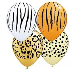 Qualatex Balloons Safari Assortment 28cm