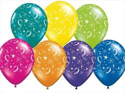 Party balloons Around Fantasy Asst 28cm