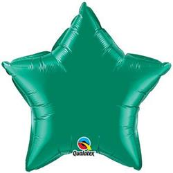 Star Foil Emerald Green 50cm   Unpackaged