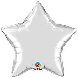 Star Foil Silver 50cm Unpackaged