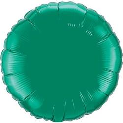 "Circle Foil Emerald Green 36"" Unpackaged"