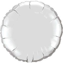 "Circle Foil Silver 36"" Unpackaged"