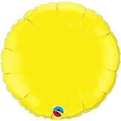 "Circle Yellow 18"""