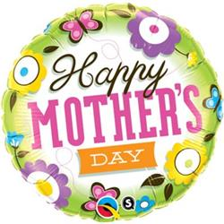 Qualatex Balloons Mothers Day Springtime 45cm