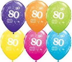 Qualatex Balloons 80 Around Tropical asst
