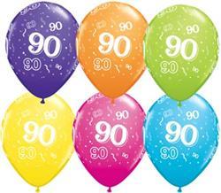 Qualatex Balloons 90 Around Tropical asst
