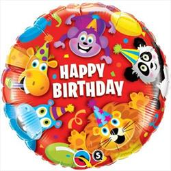 Qualatex Balloons Party Animals 45cm