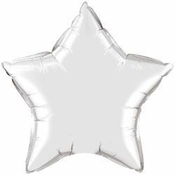 Qualatex Balloons 10cm Star Silver