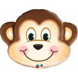 Mischevious Monkey Supershape Foil 89cm  .