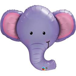 Ellie The Elephant Foil Shape 99cm