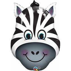 Qualatex Balloons Zany Zebra 76cm.