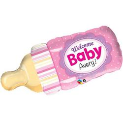 Welcome Baby Bottle Pink 99cm
