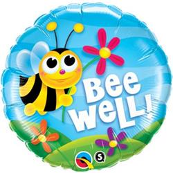 Qualatex Balloons Bee Well 45cm