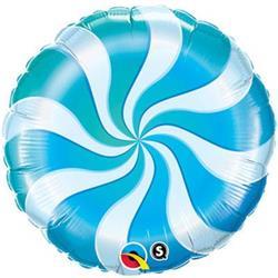 Candy Swirl Blue 45cm