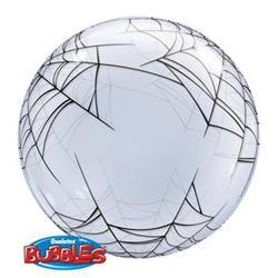 Deco Bubble Spiders Web 60cm