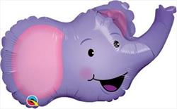 Elated Elephant Mini Shape 14""