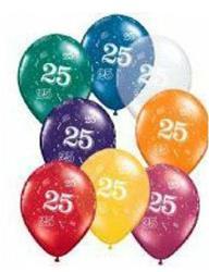 25 Around Jewel Tone Asst 28 cm