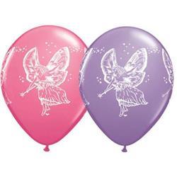 Qualatex Balloons Fairies Asst Rose & Spring Lilac 28cm.