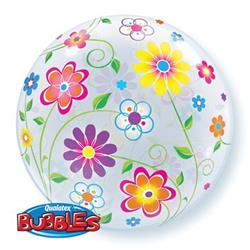 Spring Floral Patterns Bubble 55cm