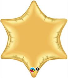 6 Point Star Gold 55.8cm
