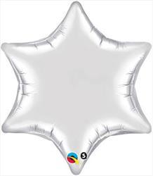 6 Point Star Silver 55.8cm