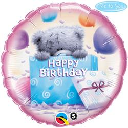 Qualatex Balloons Tatty Teddy Birthday Present 45cm