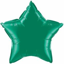 "Star Foil Emerald Green 36"" Unpackaged"