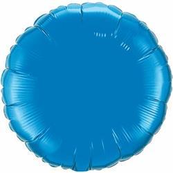 Qualatex Balloons 10cm Circle Sapphire Blue