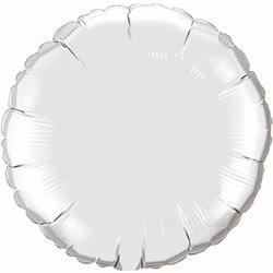 Qualatex Balloons 10cm Circle Silver