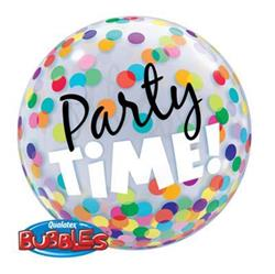 Party Time Colourful Dots Bubble 55cm