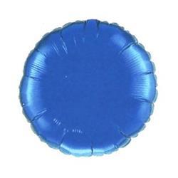 Qualatex Balloons 23cm Circle Sapphire Blue