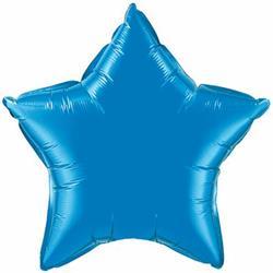 Qualatex Balloons 23cm Star Sapphire Blue