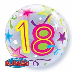 18 Brilliant Stars Bubble 55cm
