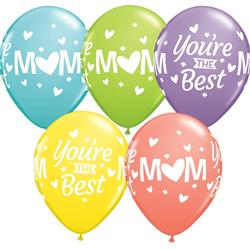 Mothers Day M(heart)M Youre the Best Sorbet Asst 28cm