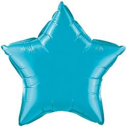 Star Foil Turquoise 50cm