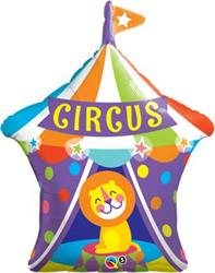 Big Top Circus Lion Foil Helium shape 91cm
