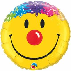 Qualatex Balloons Smile Face 23cm