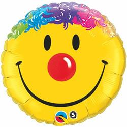 Qualatex Balloons Smile Face 45cm