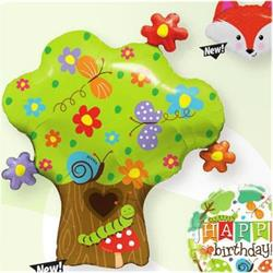 Enchanted Tree In Bloom Foil Shape 94cm