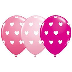 Qualatex Balloons Big Hearts 40cm