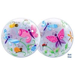 Colourful Garden Bugs & Insects Bubble 55cm