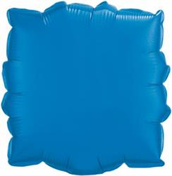 Qualatex Balloons 23cm Square Sapphire Blue